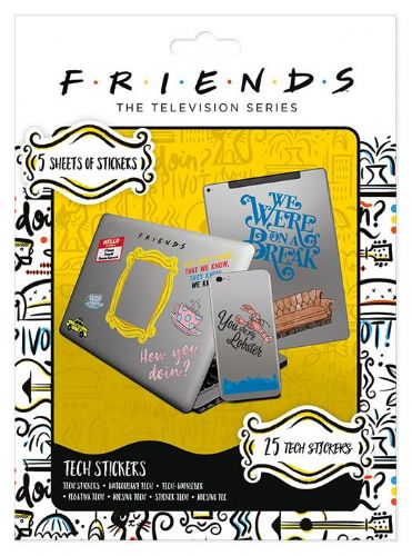 Friends - Tv Show - Tech Stickers 25 stickers